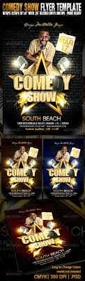 Comedy Show Flyer Template Comedy Show Flyer Template By OMEGAMULTIMEDIA GraphicRiver 11