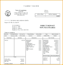 Payroll Check Stub Template Free Blank Pay Stubs Template Download Stub Apply It Right Now Example