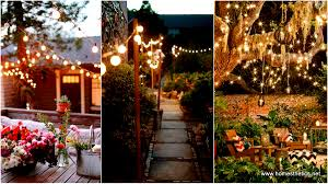 patio string lighting ideas. 24 Jaw Dropping Beautiful Yard And Patio String Lighting Ideas For A Small Heaven D