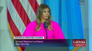 C-span U At n First Remarks Trump org Lady Melania Luncheon