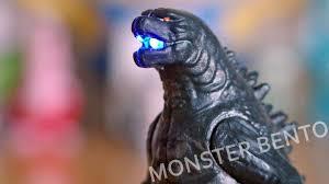 Godzilla Light Godzilla 2014 Movie Toys Light And Sound Figure With Sticker Book Unboxing Review