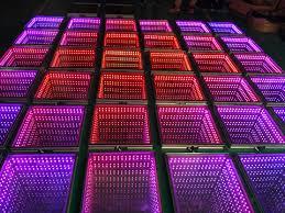 Floor lighting led Homemade Led Dancing Floor 3d Mirror 1 Series 3d Mirror 2 Series Twinkling Dancing Floor Square Interactive Video Pattern Dancing Floor Led Stage Dance Dekor Lighting Led Dancing Floor 3d Mirror 1 Series 3d Mirror 2 Series
