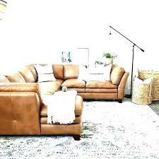 camel leather sectional camel camel color leather sectional