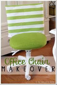 diy office chair redo via inmyownstyle