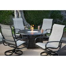aluminum sling patio furniture. Winston Patio Furniture For Home Completeness: Belham Living Savoy Aluminum Sling Fire