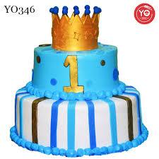 Prince 1st Birthday Cakehyderabadbaby Boy 1st Birthday Cake