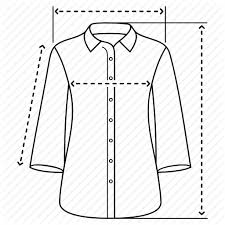 Blouse Measurement Chart Male And Female Clothing Sizes By Oleksandr Panasovskyi
