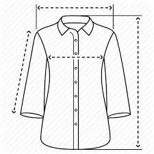 Blouse Size Chart Male And Female Clothing Sizes By Oleksandr Panasovskyi
