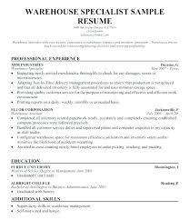 Warehouse Objective Resume Best Of Resume Objective Warehouse Wakeboardingsupplies