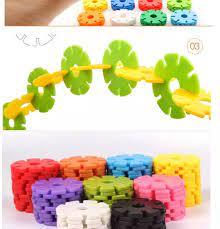 Đồ chơi lắp ráp thông minh cho bé - Bộ đồ chơi xếp hình vừa chơi vừa học hình  bông hoa cho trẻ - Bản đầy đủ.