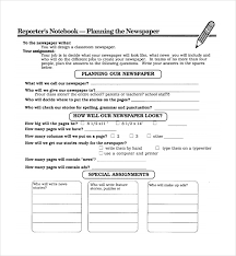 Classroom Newspaper Template Classroom Newspaper Template 8 Free Word Pdf Ppt Documents