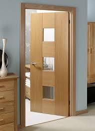 catalonia oak pre glazed pre finished interior door