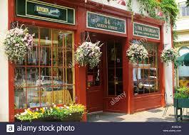 Irish Design Shop Niagara On The Lake Storefront Niagara On The Lake Ontario Canada Stock Photo