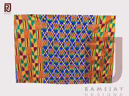 Ghana Fabric Designs Handwoven Kente Cloth Ghana Fabric Asante African Woven
