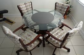 dining room chairs with wheels. Contemporary Dining 120000 ClassicCaster_36glassjpg Throughout Dining Room Chairs With Wheels O