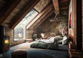 image of loft bedroom ideas vintage
