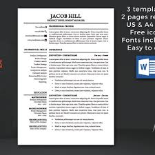 Template Professional Resume Delectable Instant Resume Templates] 48 Images Resume Template Instant