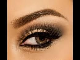 holiday arabic advers using eyeshadow is an