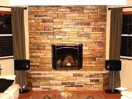 faux stone fireplace installation cast mantels home depot