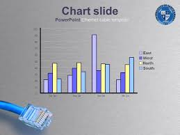 Powerpoint Ethernet Cable Template Chart Slide Powerpoint