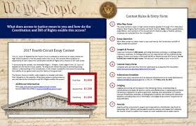 fourth circuit essay contest price s write