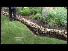 Small Picture Garden Rock Wall YouTube