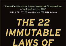 22 Immutable Laws Of Marketing The 22 Immutable Laws Of Marketing Book Notes Scaleup