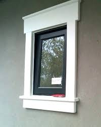 exterior window sill trim exterior window trim with stucco how to make a window sill exterior