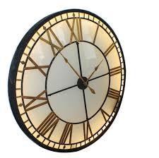 ideas metal skeleton vintage wall clocks uk in size 1200 x 1199