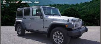 2018 jeep wrangler unlimited rubicon in silver