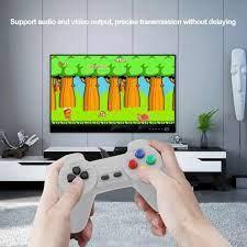 Máy chơi game cầm tay, máy chơi game điện tử 4 nút 600 game cổ điển cổng AV  kết nối Tivi cho 2 người chơi tại Hà Nội