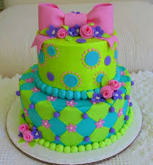 Colors That Match Turquoise Bathroom Cute Turquoise Lime Green And Pink Cake Colors That