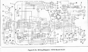 ironhead 1978 xlch questions (warning pic heavy) the sportster xlh wiring diagram looking at the wiring diagram, i don't see anything in the circuit that would cause the lamps to run unless the switch has a \