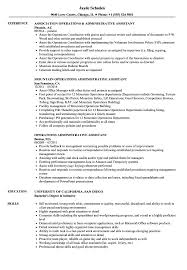 Administrative Assistant Job Resume Examples Operations Administrative Assistant Resume Samples Velvet Jobs 44