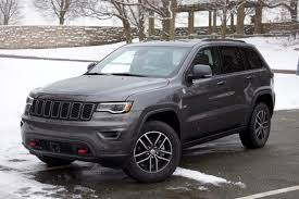 Jeep Grand Cherokee Trim Comparison Chart 2017 Jeep Grand Cherokee Overview Cargurus