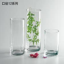 transpa cylinder shape glass vas end 6242019 315 pm