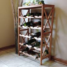 Wine Cellar In Kitchen Floor Winsome Wood Kingston 20 Bottle Espresso Floor Wine Rack 92145