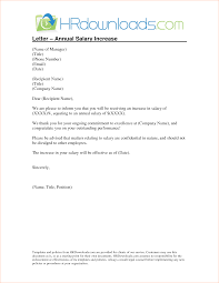 Pay Raise Letter Template pay raise letter Ninjaturtletechrepairsco 1