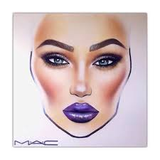 best 20 makeup drawing ideas on