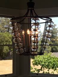 paul ferrante light fixtures in breakfast room