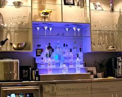 commercial bar lighting. Diy Home Bar Lighting Shelving For Commercial Bars Led Lighted Liquor Shelves Lg .