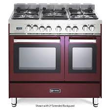 36 gas range double oven. Delighful Gas 36u0026quot  Dual Fuel Double Oven Range Convection Finish Burgundy And 36 Gas