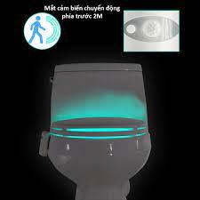 Đèn led nhà vệ sinh thông minh tự động phát sáng bằng công nghệ cảm biến  chuyển động
