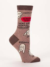 Assholes Are Everywhere Men's Socks by Blue Q - Lark - A Modern Marketplace