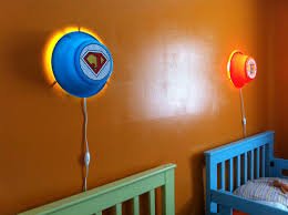 boys room lighting. brilliant room smila wall lamps into custom kidsu0027 super hero night lights and boys room lighting o