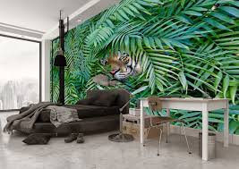 jungle wallpaper for walls. Modren Jungle Junglewallpaperinbedroom On Jungle Wallpaper For Walls H