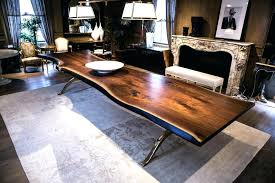 live edge design live edge round table live edge table solid black walnut live edge dining