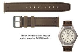 leather genuine timex leather watch strap for mens t49870 watch leather genuine timex leather watch strap for mens t49870 watch 18mm fit