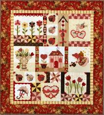 Blessings of Spring - Quilt Patterns and ThreadsQuilt Patterns and ... & Blessings of Spring Rebloomed! Adamdwight.com