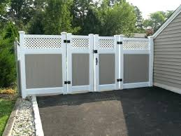 vinyl fence designs. Vinyl Fence Ideas Two Toned Lattice Topper . Designs R